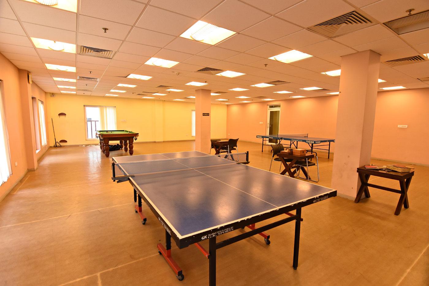 Indoor games arena : Actual Image