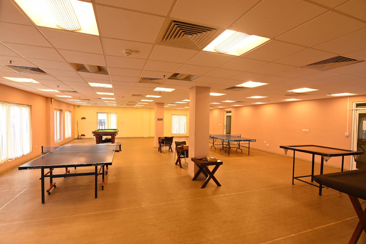 Indoor games arena: Actual Image