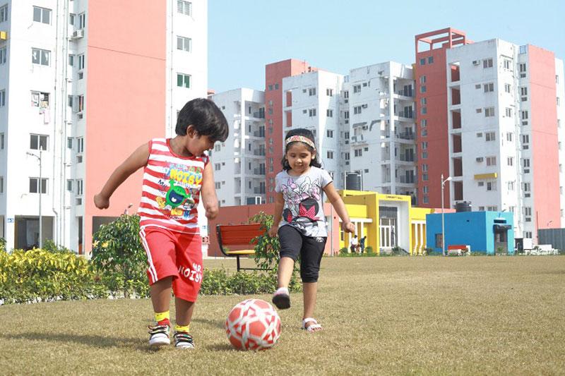 Children Play Ground: Actual Image