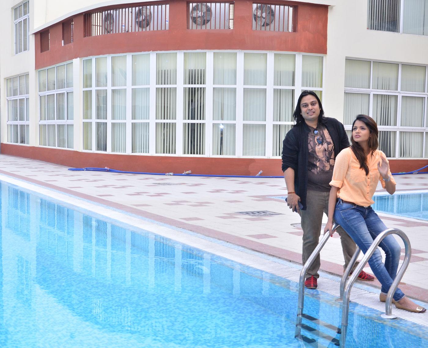 Swimming Pool: Actual Image